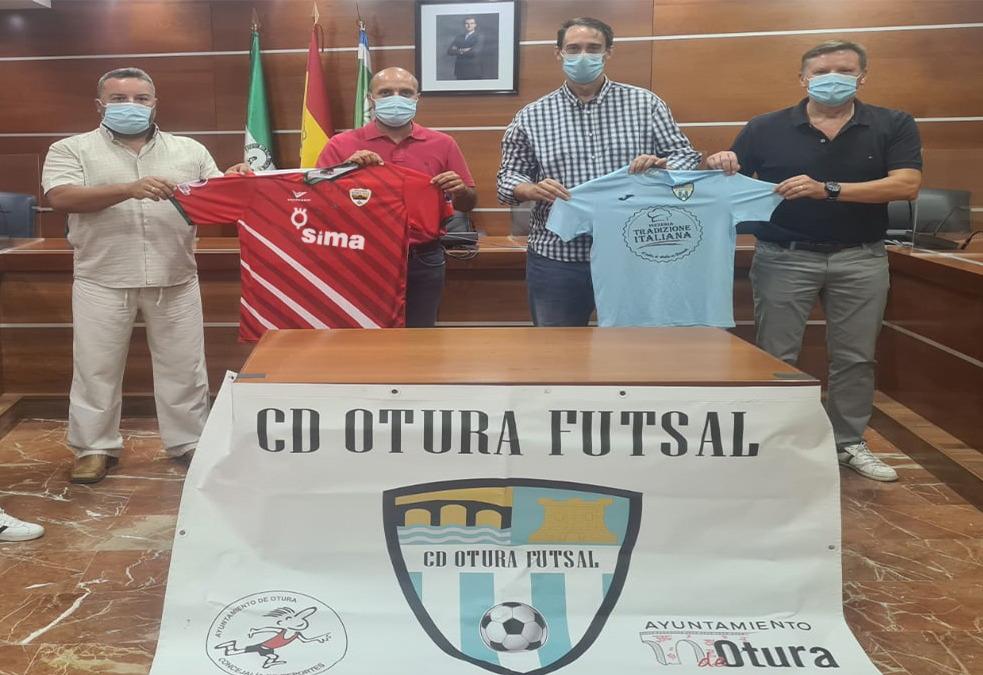 Recepción en el Ayuntamiento de Otura