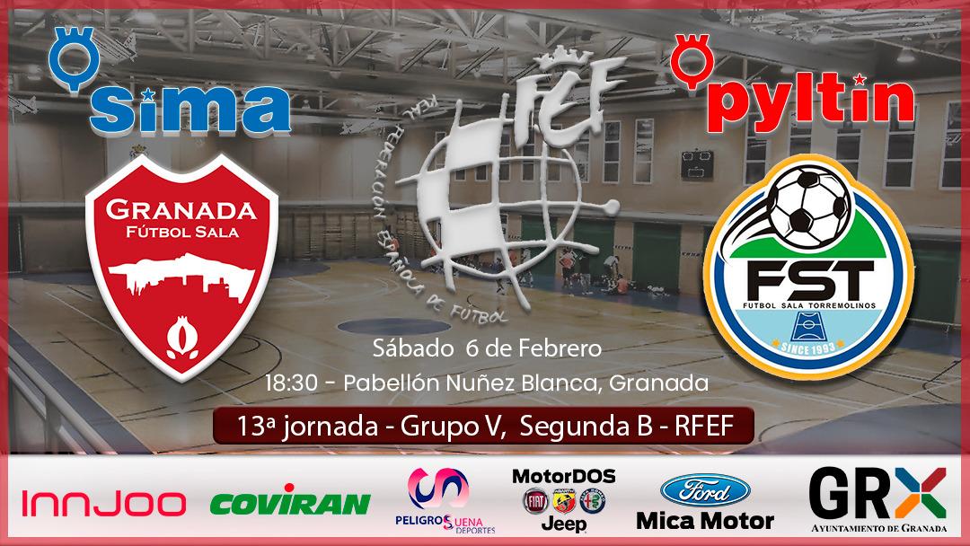 El SIMA Granada vuelve al Núñez Blanca ante el Torremolinos